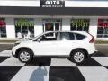 2013 White Diamond Pearl Honda CR-V EX  photo #1