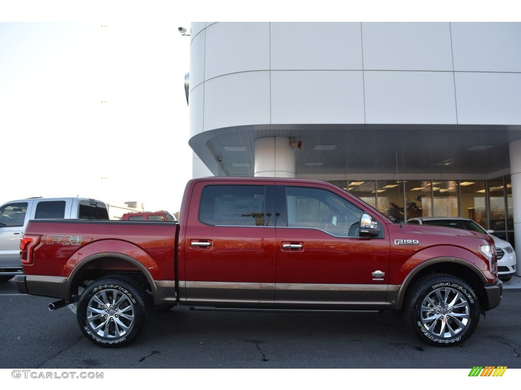 2016 Ruby Red Ford F150 King Ranch Supercrew 4x4 109336253 Photo 2