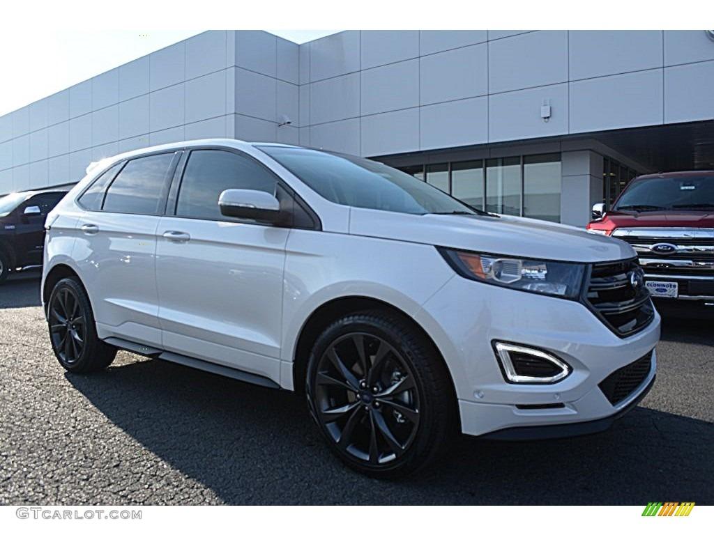 2015 white platinum metallic ford edge sport 109336246 car color galleries. Black Bedroom Furniture Sets. Home Design Ideas