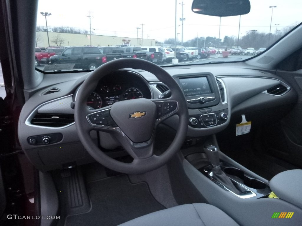 Dark atmosphere medium ash gray interior 2016 chevrolet for Dark grey interior