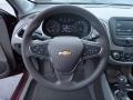 Dark Atmosphere/Medium Ash Gray Steering Wheel Photo for 2016 Chevrolet Malibu #109342742