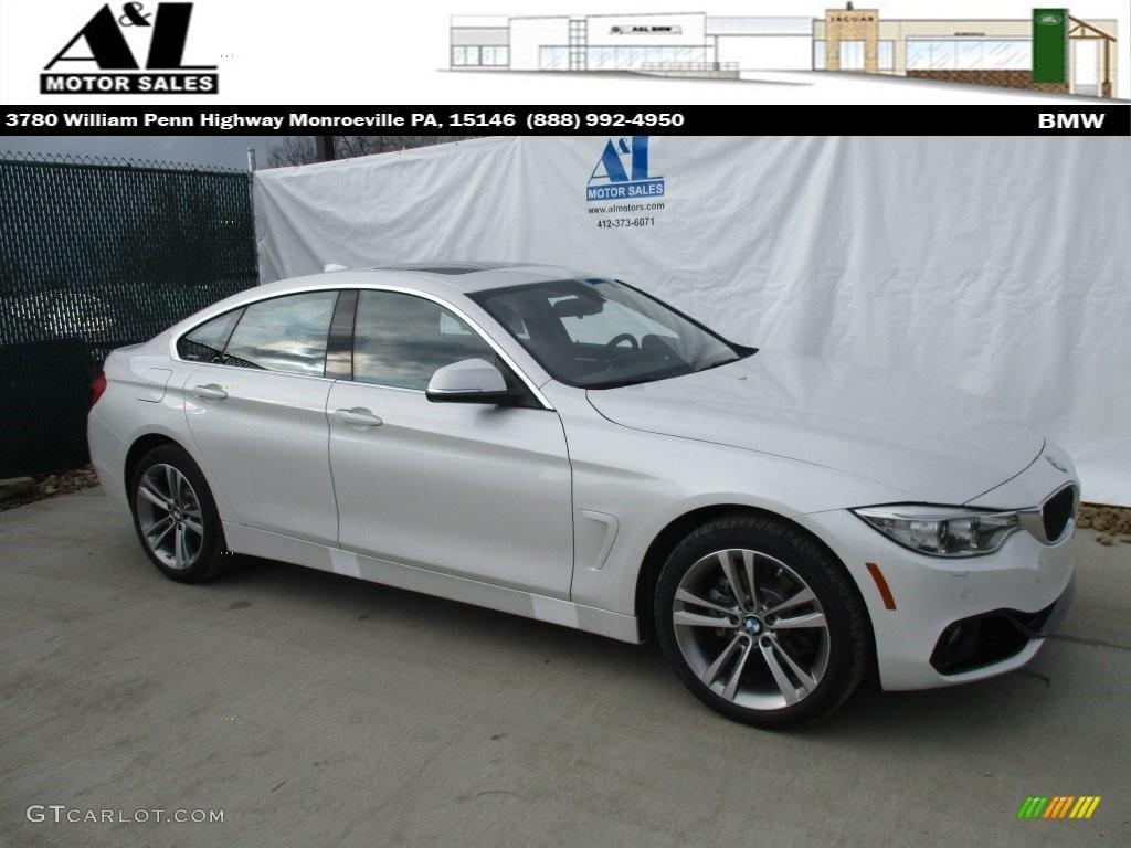 Mineral White Metallic BMW 4 Series