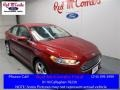 2016 Ruby Red Metallic Ford Fusion S #109336148