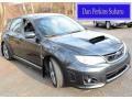 Dark Gray Metallic 2012 Subaru Impreza WRX STi 5 Door