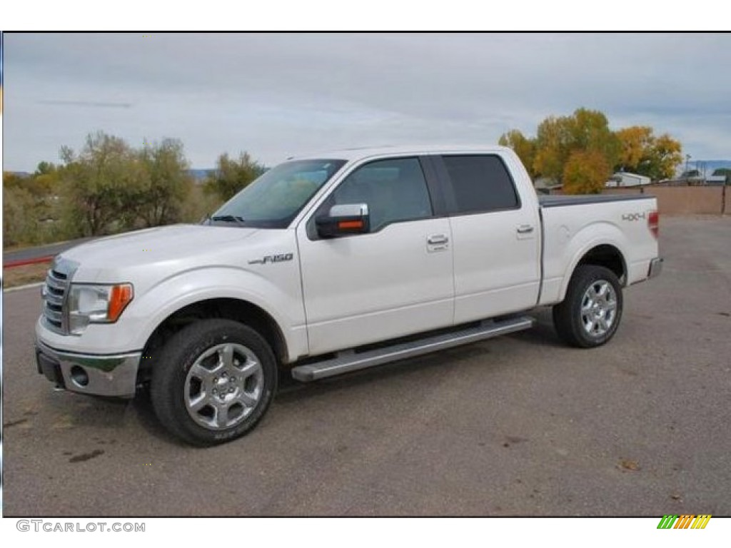 2014 oxford white ford f150 lariat supercrew 4x4 109391175 car color galleries. Black Bedroom Furniture Sets. Home Design Ideas