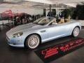 Glacial Blue 2009 Aston Martin DB9 Volante