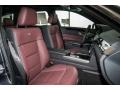 designo Mystic Red 2016 Mercedes-Benz E Interiors