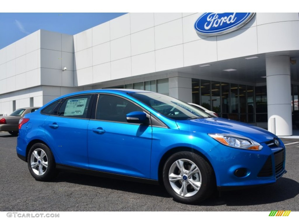 2014 blue candy ford focus se sedan 109391000 car color galleries. Black Bedroom Furniture Sets. Home Design Ideas