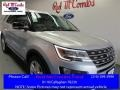 2016 Ingot Silver Metallic Ford Explorer XLT  photo #1