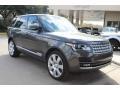 Waitomo Grey Metallic 2016 Land Rover Range Rover Supercharged Exterior