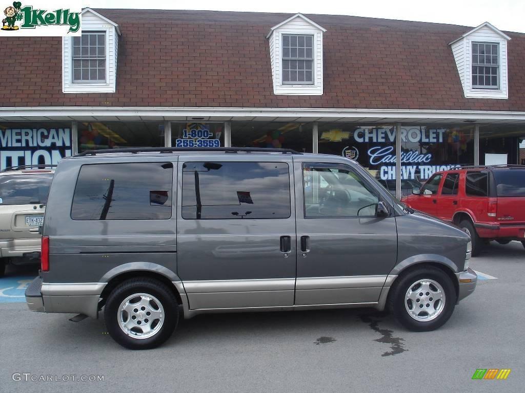 2005 medium charcoal gray metallic chevrolet astro ls awd passenger van 10931289. Black Bedroom Furniture Sets. Home Design Ideas