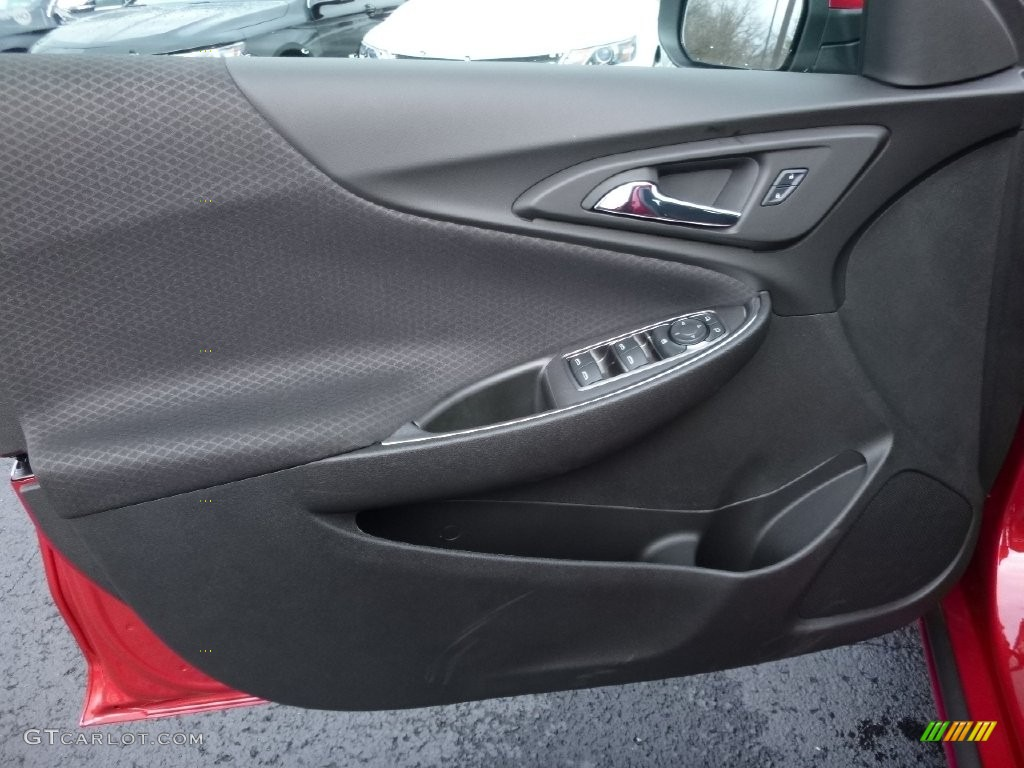 2016 Chevrolet Malibu LT Jet Black Door Panel Photo #109419454