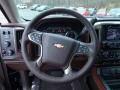 2016 Chevrolet Silverado 1500 High Country Saddle Interior Steering Wheel Photo
