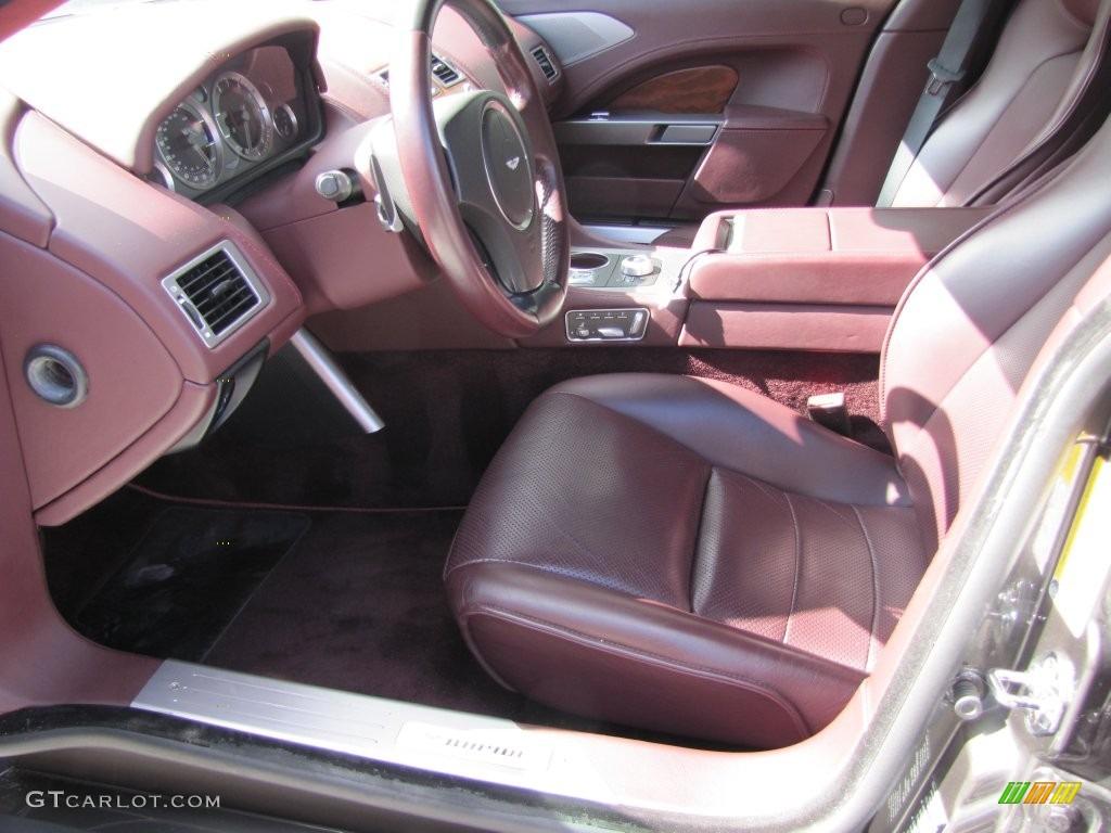 2011 Aston Martin Rapide Sedan Interior Color Photos