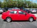 2007 Victory Red Chevrolet Cobalt LS Sedan  photo #9