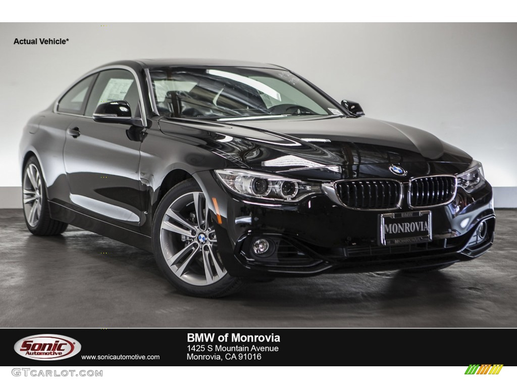 2016 jet black bmw 4 series 428i coupe 109411823 car color galleries. Black Bedroom Furniture Sets. Home Design Ideas