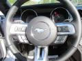 2016 Ford Mustang Ebony Interior Steering Wheel Photo