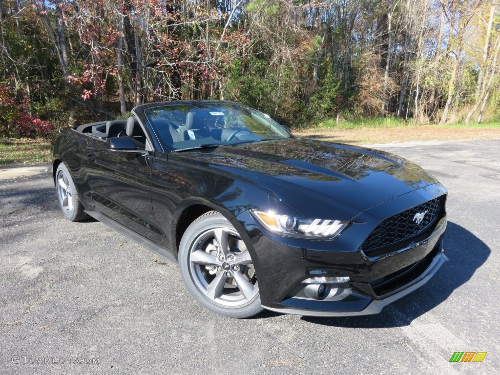 shadow black 2016 ford mustang v6 convertible exterior photo 109436682. Black Bedroom Furniture Sets. Home Design Ideas