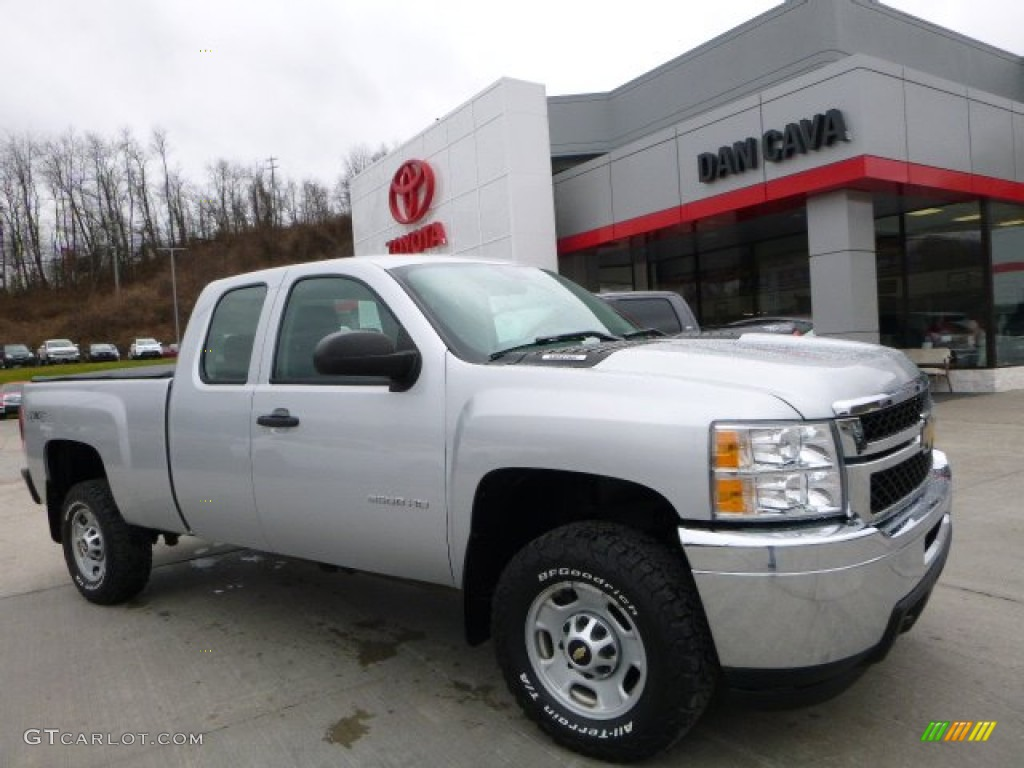 Silver ice metallic chevrolet silverado 2500hd