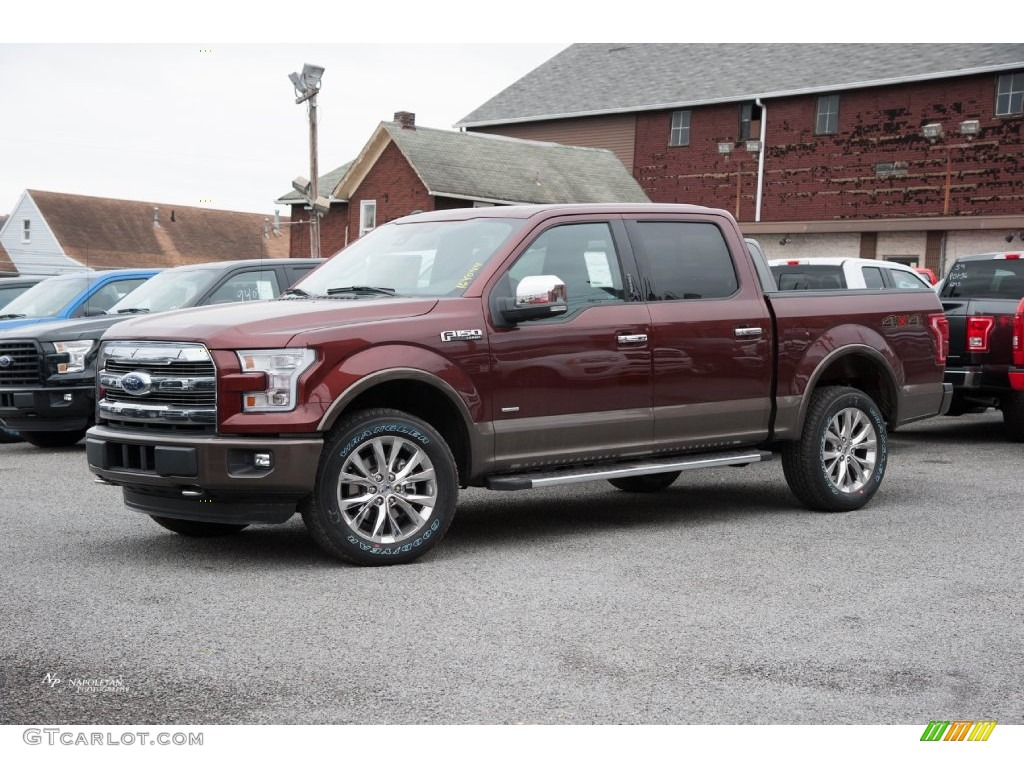2016 bronze fire ford f150 lariat supercrew 4x4 109444913 car color galleries. Black Bedroom Furniture Sets. Home Design Ideas