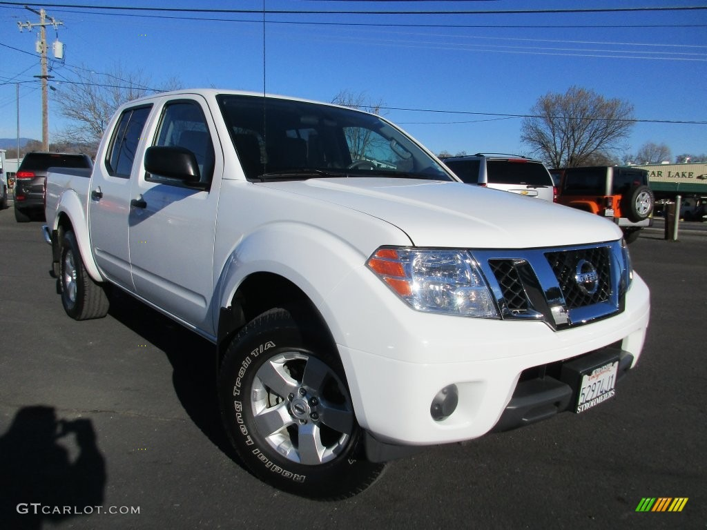 2012 Avalanche White Nissan Frontier Sv Crew Cab 4x4 109445016 Car Color Galleries