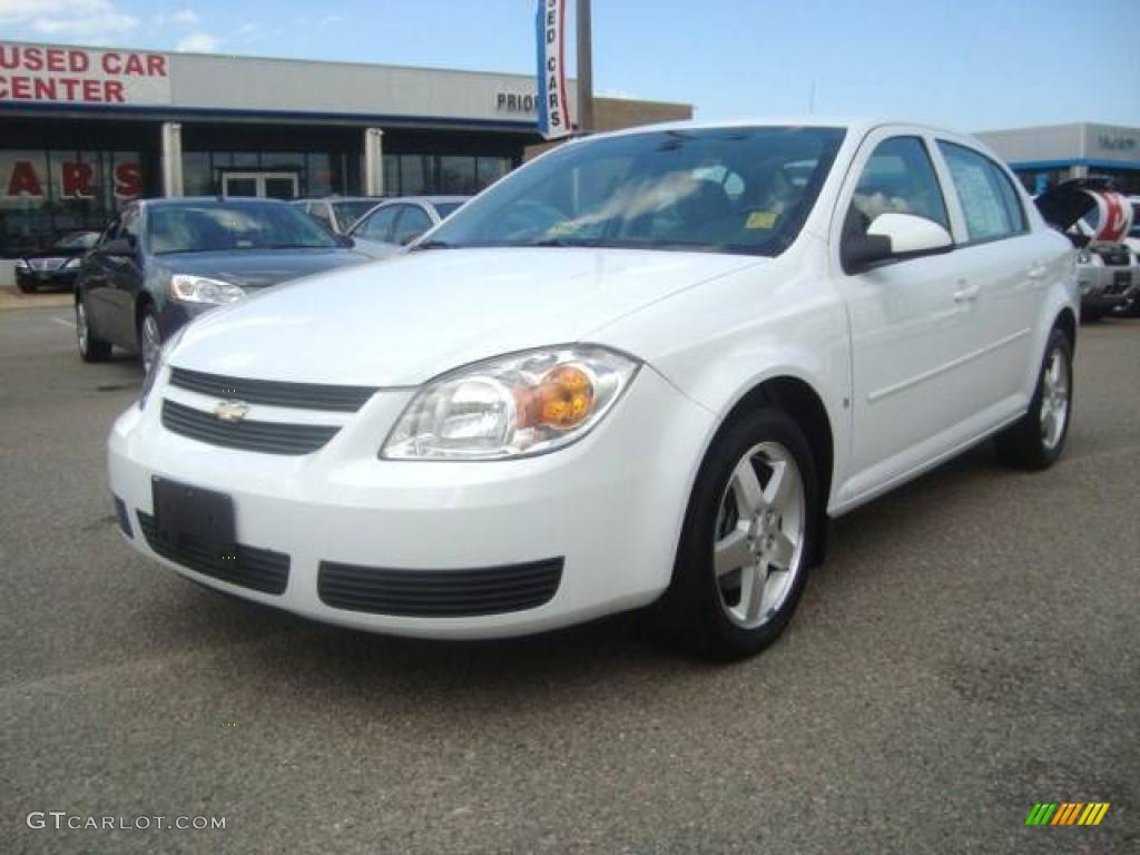 2007 summit white chevrolet cobalt lt sedan 10921806. Black Bedroom Furniture Sets. Home Design Ideas