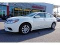 Pearl White 2016 Nissan Altima Gallery