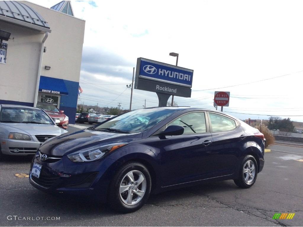 2014 Blue Hyundai Elantra Se Sedan 109504093 Gtcarlot