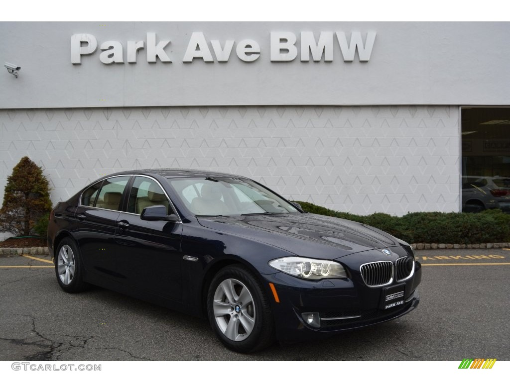 2013 imperial blue metallic bmw 5 series 528i xdrive sedan 109503655 car color. Black Bedroom Furniture Sets. Home Design Ideas