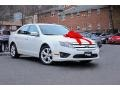 2012 White Platinum Tri-Coat Ford Fusion SE #109503568