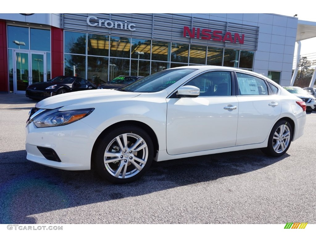 2016 pearl white nissan altima 3 5 sl 109503982. Black Bedroom Furniture Sets. Home Design Ideas