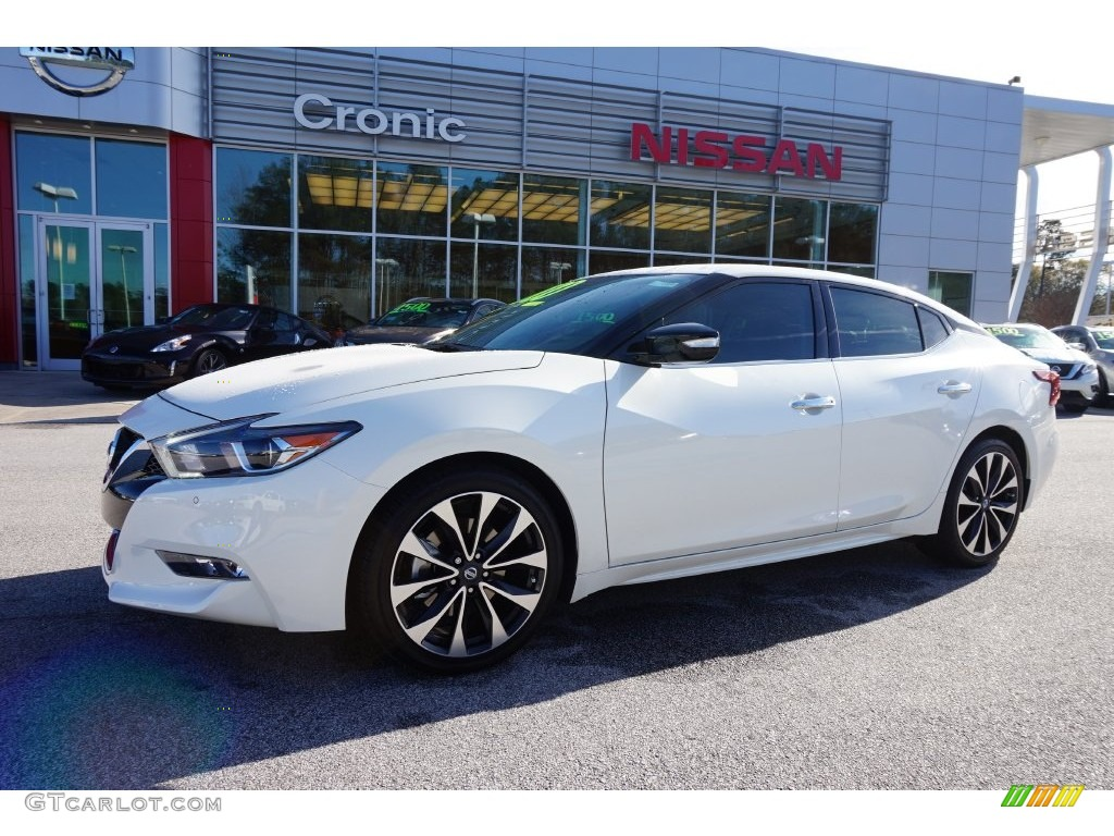2016 pearl white nissan maxima sr 109503972 car color galleries. Black Bedroom Furniture Sets. Home Design Ideas