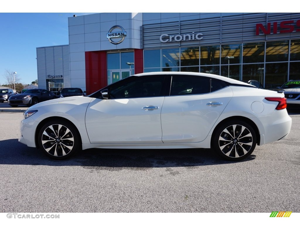 2016 pearl white nissan maxima sr 109503972 photo 2 car color galleries. Black Bedroom Furniture Sets. Home Design Ideas