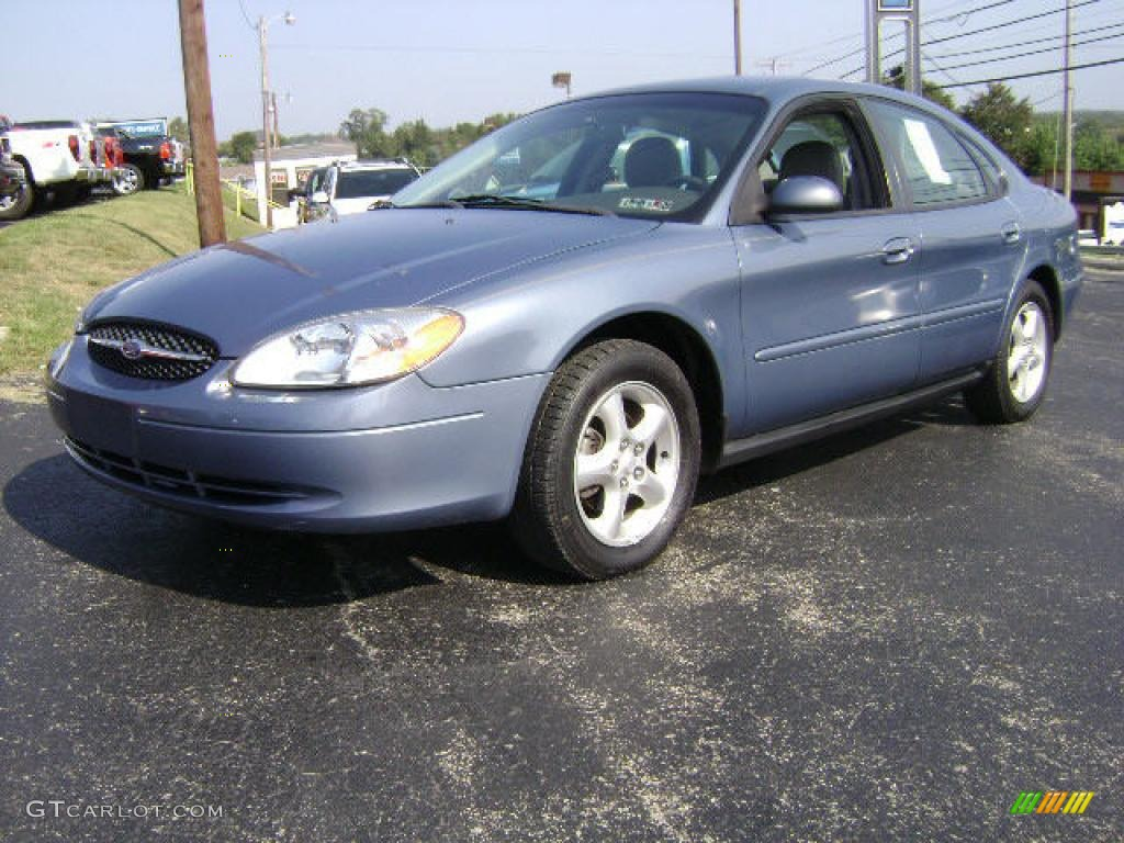 2000 Graphite Blue Metallic Ford Taurus Ses 10935960