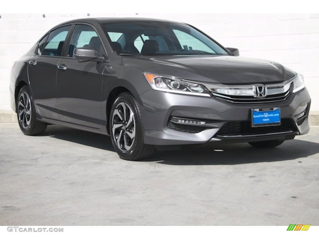 2016 modern steel metallic honda accord ex l sedan. Black Bedroom Furniture Sets. Home Design Ideas