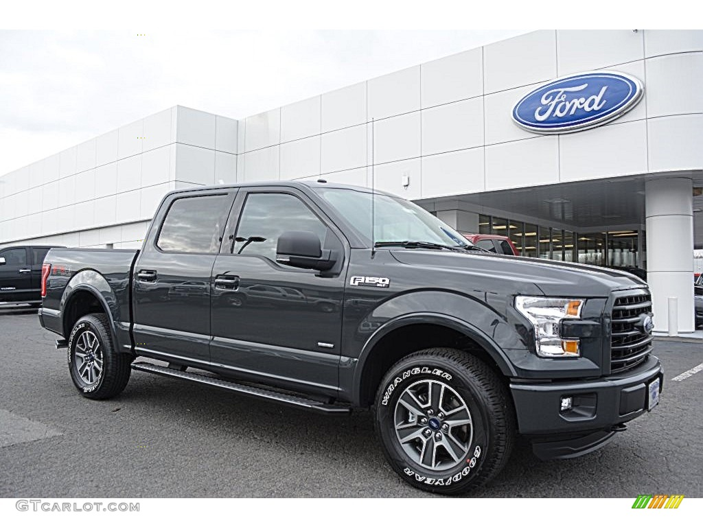 2016 lithium gray ford f150 xlt supercrew 4x4 109559283 car color galleries. Black Bedroom Furniture Sets. Home Design Ideas
