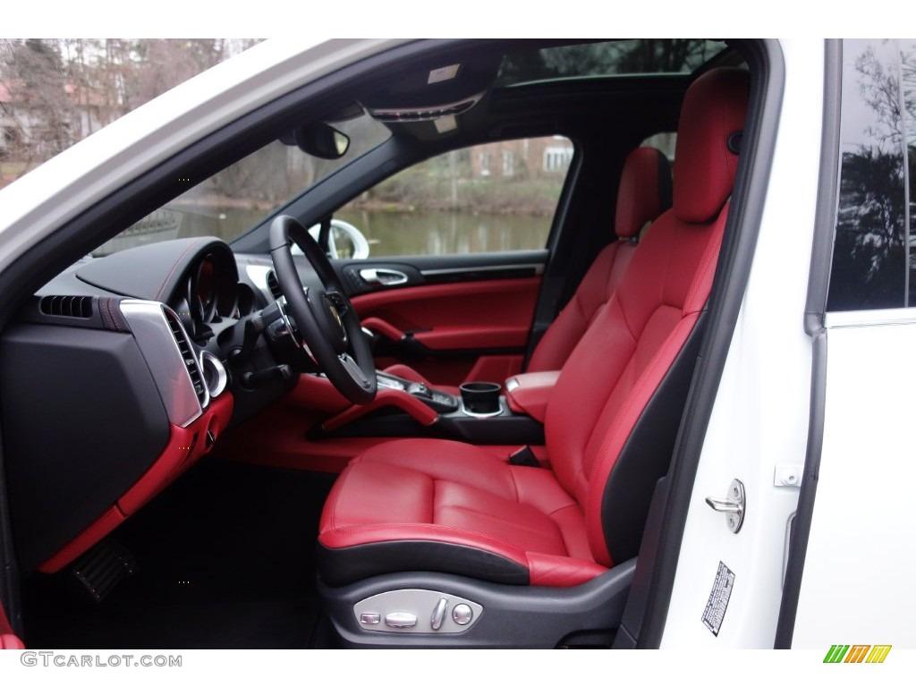Black Garnet Red Interior 2016 Porsche Cayenne S Photo 109574240 Gtcarlot Com