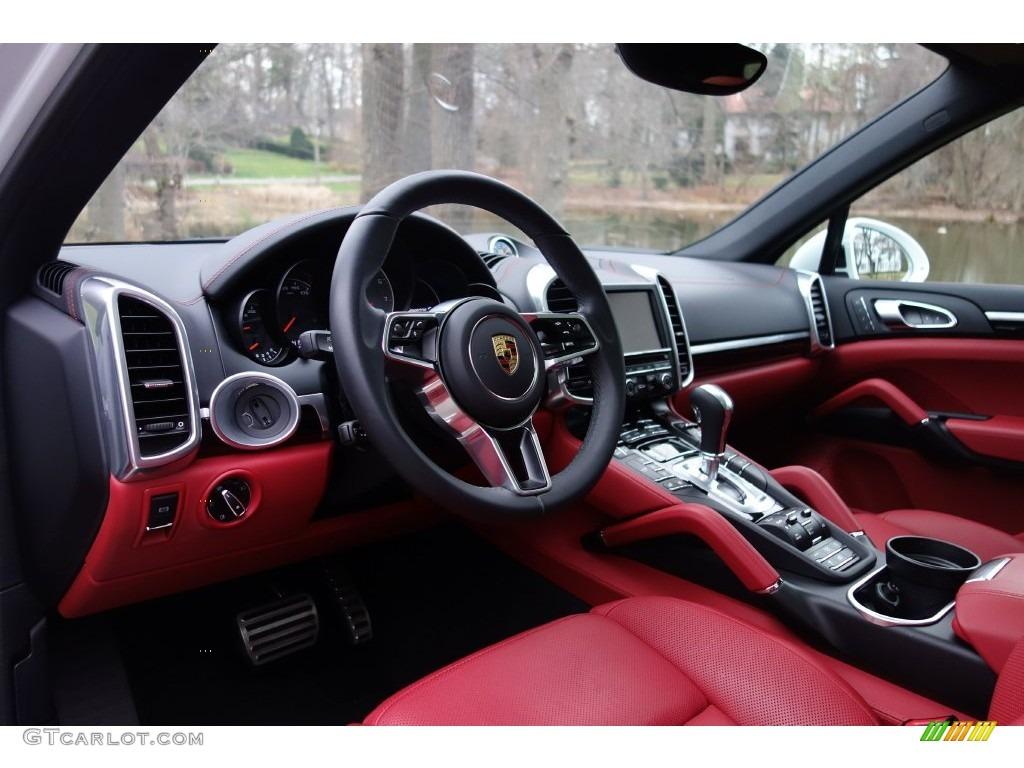 Black Garnet Red Interior 2016 Porsche Cayenne S Photo 109574490 Gtcarlot Com