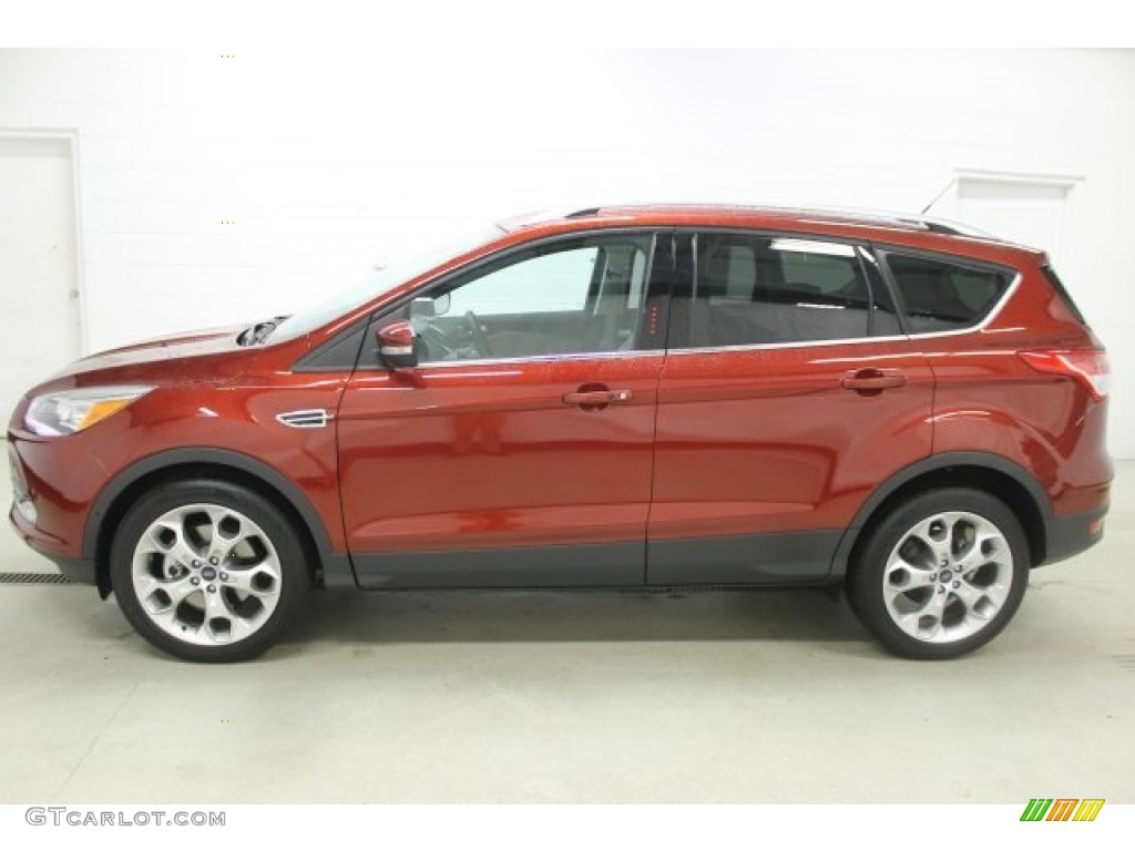 sunset metallic 2016 ford escape titanium 4wd exterior. Black Bedroom Furniture Sets. Home Design Ideas