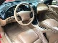 1997 Ford Mustang Saddle Interior Interior Photo