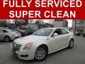 White Diamond Tricoat 2012 Cadillac CTS 3.0 Sedan