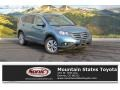 2014 Mountain Air Metallic Honda CR-V EX-L AWD #109582410