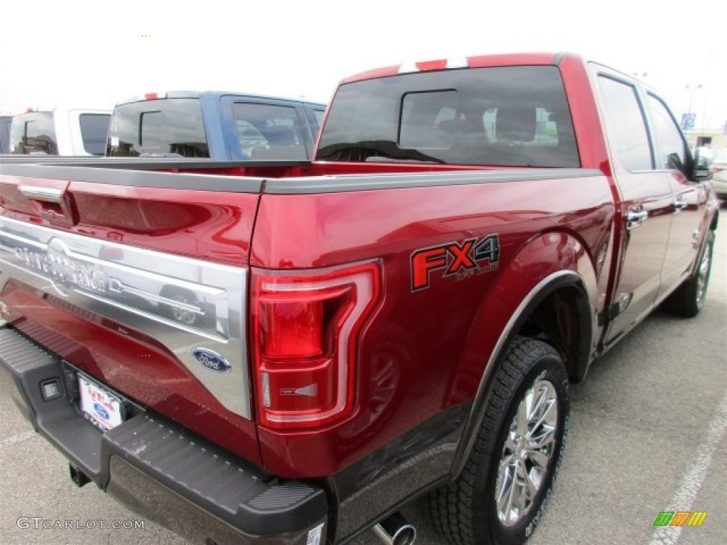 2016 Ruby Red Ford F150 King Ranch Supercrew 4x4 109582472 Photo 9
