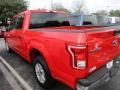 2016 Race Red Ford F150 XLT SuperCrew  photo #5