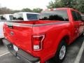 2016 Race Red Ford F150 XLT SuperCrew  photo #8