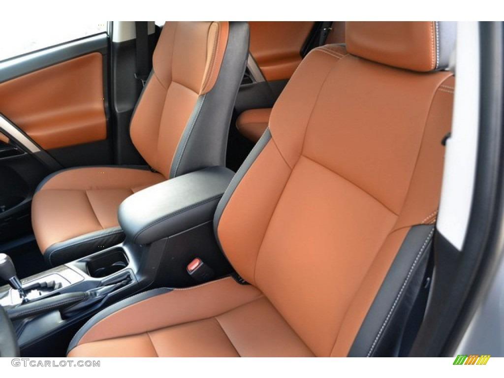 Cinnamon Interior 2016 Toyota Rav4 Limited Hybrid Awd