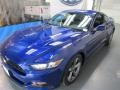 2016 Deep Impact Blue Metallic Ford Mustang V6 Coupe  photo #3
