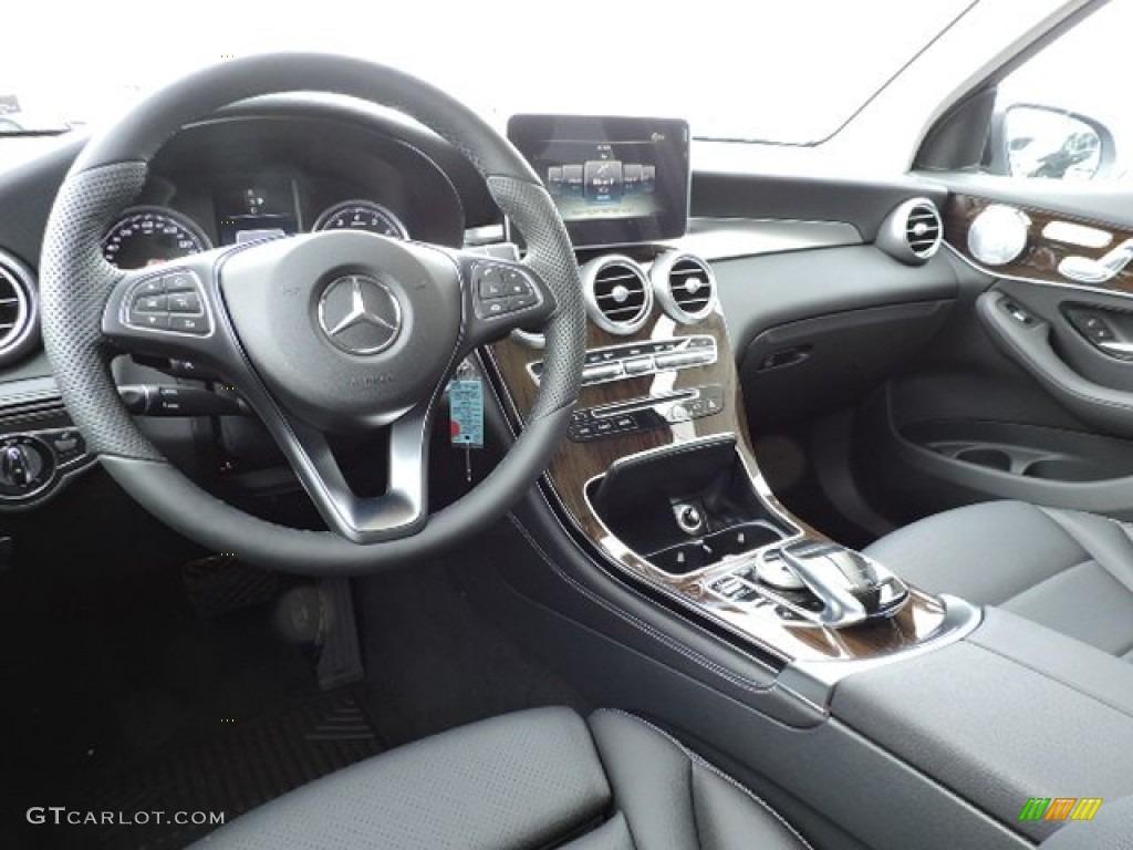 black interior 2016 mercedes benz glc 300 4matic photo 109611701