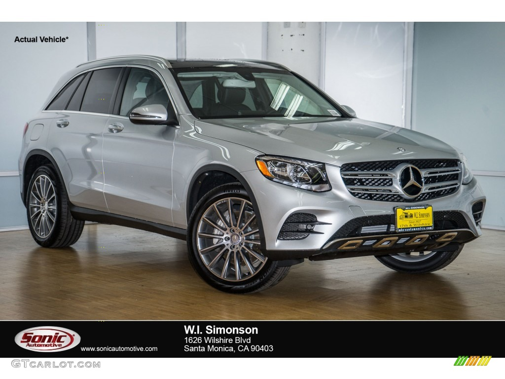 2016 iridium silver metallic mercedes benz glc 300 4matic for Mercedes benz silver
