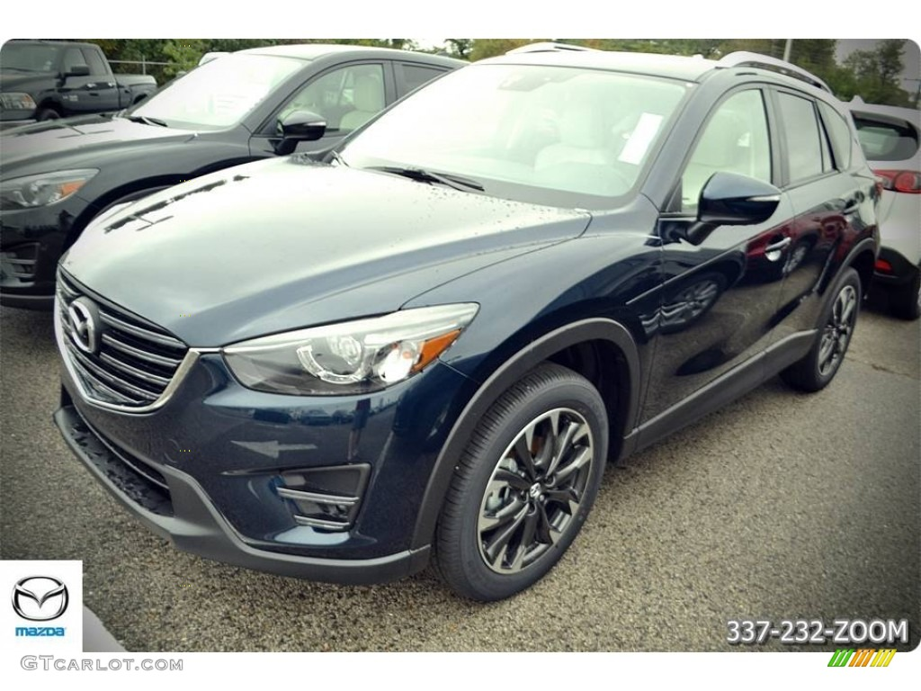 2016 deep crystal blue mica mazda cx 5 grand touring. Black Bedroom Furniture Sets. Home Design Ideas